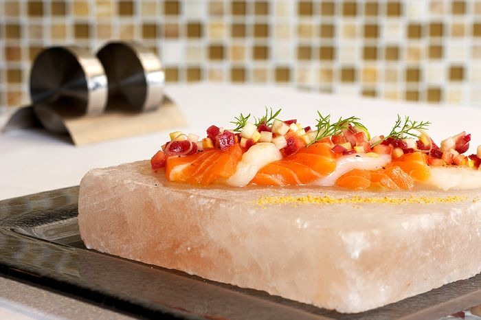 Salt Block Salmon