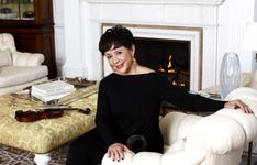 Sheila Johnson in her Living Room