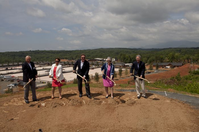 Tryon Resort Groundbreaking