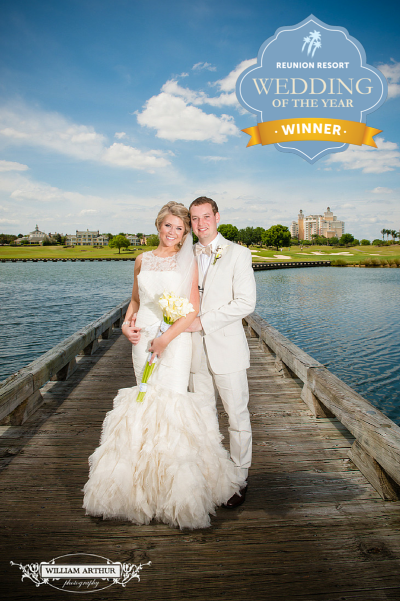 Reunion Resort announces its first 'Wedding of the Year' contest winner