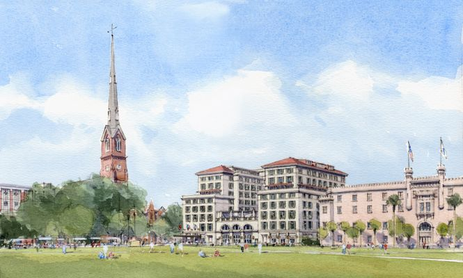 Hotel Bennett, the South's Grandest New Luxury Hotel, to open in Charleston, SC, in Fall 2017