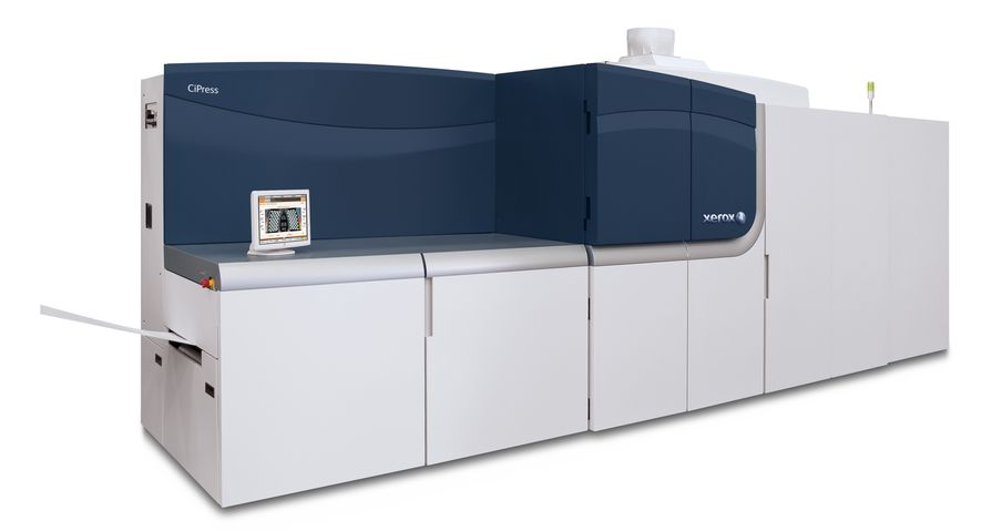 Xerox's New CiPress Single Engine Duplex Inkjet Lets Printers of All Sizes Capture More Variable Information Jobs