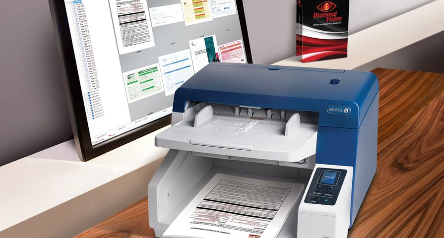 Xerox DocuMate 4790 with Diamond Vision Enterprise Edition Software