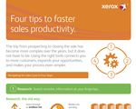 Infographic: Xerox Tips to Faster Sales Productivity