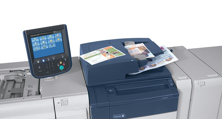 Xerox Color C60/C70 Printer Prints on Linen