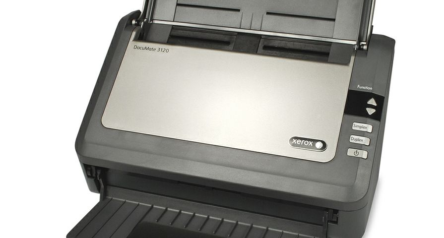 Xerox DocuMate 3120 scanner