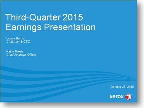 3Q15 earnings