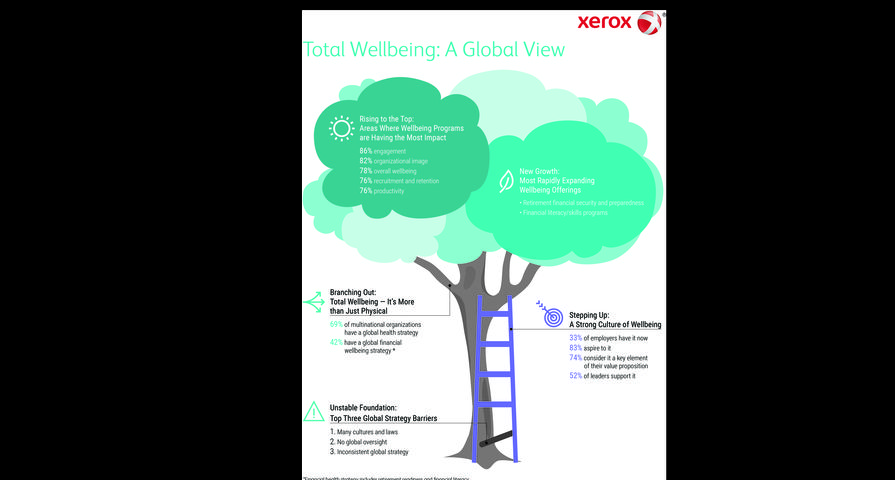 Infographic: 2016 Employer's Top Objectives for Wellbeing Programs