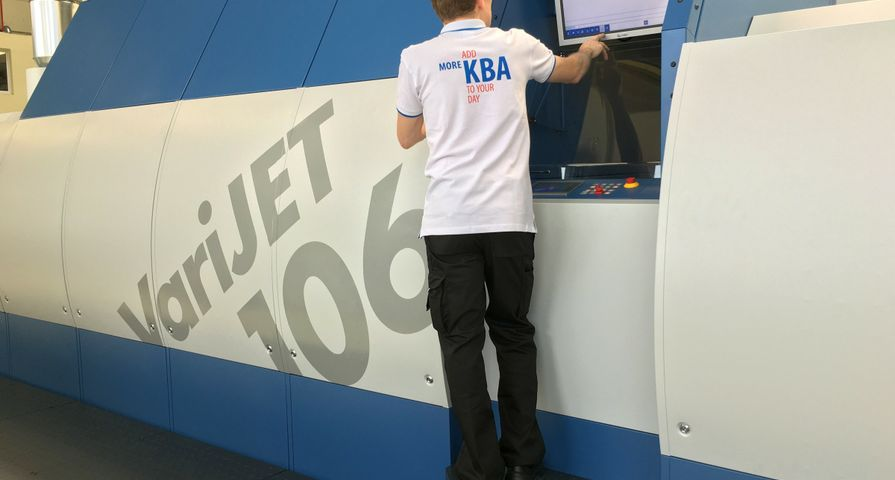 KBA VariJET 106 Powered by Xerox