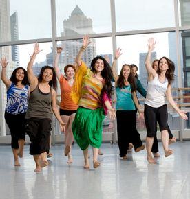 Masala Bhangra class at the Ailey Extension