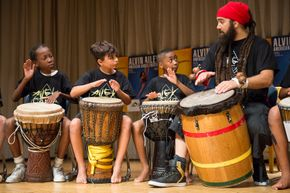 AileyCamp New York Percussion Class