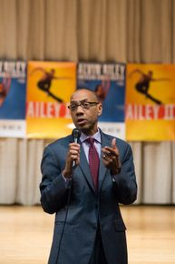 Dennis M. Walcott, Chancellor of NYC Schools at AileyCamp New York