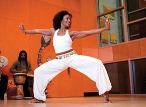 Afro Flow Yoga at The Ailey Extension