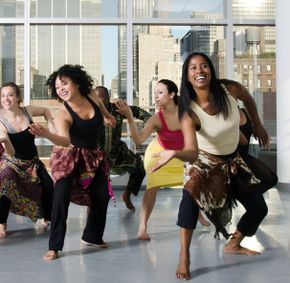 Guinean Class at the Ailey Extension