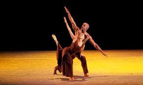 Belen Pereyra and Collin Heyward in Alvin Ailey's Revelations