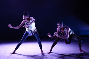 Jacoby Pruitt and Courtney Celeste Spears in Jamar Roberts' Gemeos
