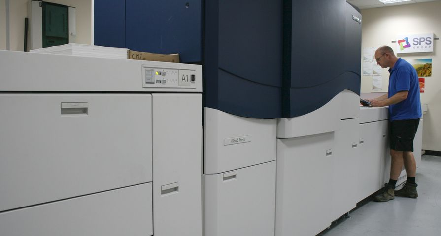 The SPS Group Ensures Perfect Colour Matching with the U.K.'s First Xerox iGen 5 Press
