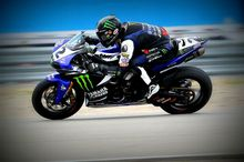Josh Herrin, wearing the Bell Star Carbon