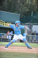 UCLA Catcher in Easton Force Gear
